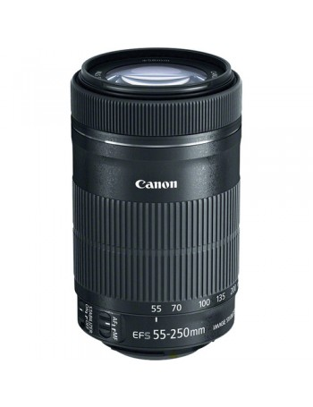 Objetiva Canon EF-S 55-250mm f4-5.6 IS STM