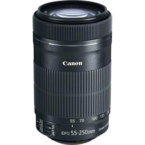 Objetiva Canon EF-S 55-250mm f4-5.6 IS STM