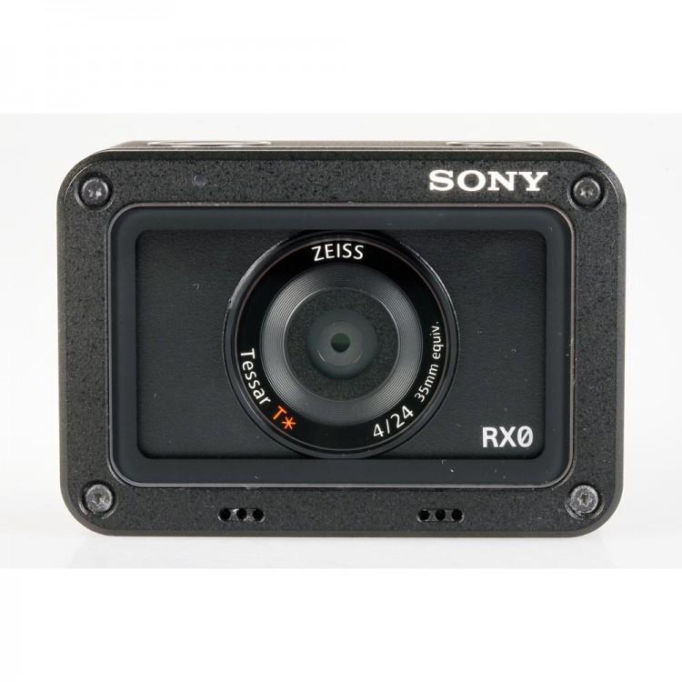 Câmera filmadora ultra compacta Sony Cyber-shot RX0 a prova d'água - USADA