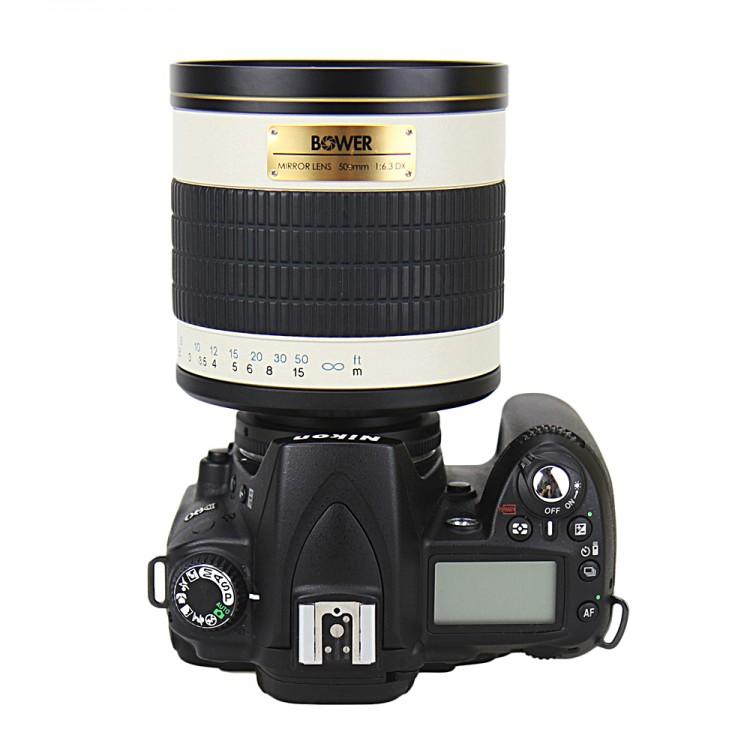 Anel Adaptador KIWI LMA-TM_NK - Rosca T-Mount em câmera Nikon DX e FX