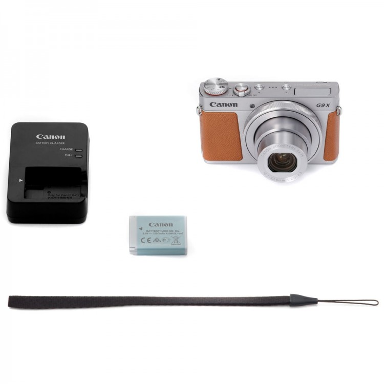 Câmera compacta avançada Canon Powershot G9X Mark II (PRATA)