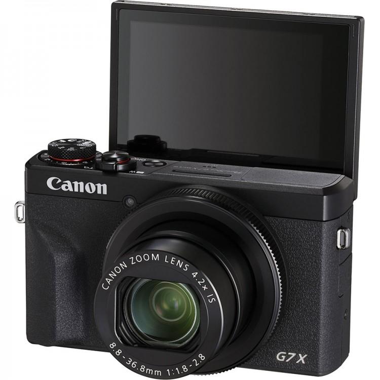 Câmera compacta avançada Canon Powershot G7X Mark III
