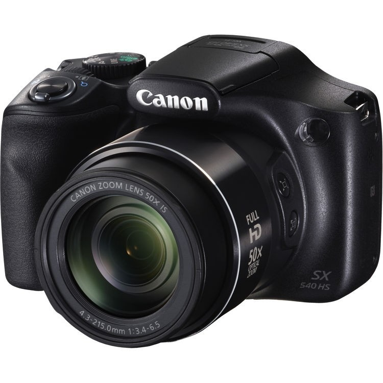 Câmera compacta superzoom Canon Powershot SX540 HS com zoom ótico de 50x