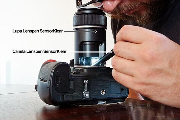 Caneta para Limpeza do Sensor Lenspen Sensorklear II Elite SK-1A