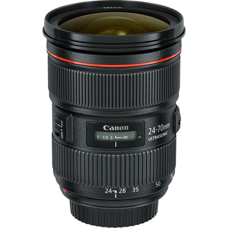 Objetiva Canon EF 24-70mm f2.8L II USM