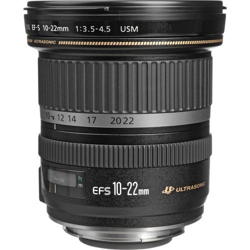 Objetiva Canon EF-S 10-22mm f3.5-4.5 USM