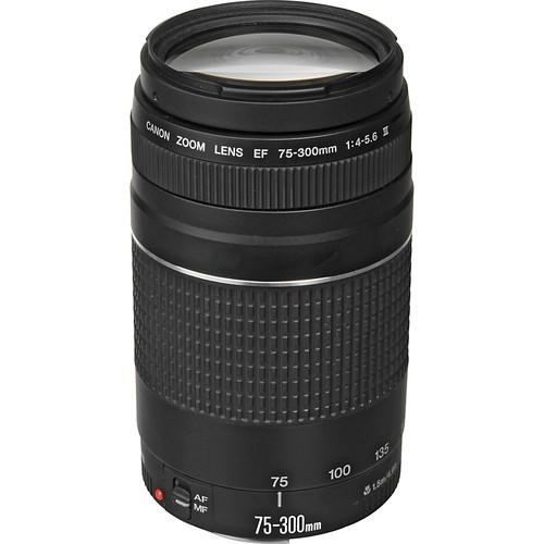 Objetiva Canon EF 75-300mm f4-5.6 III