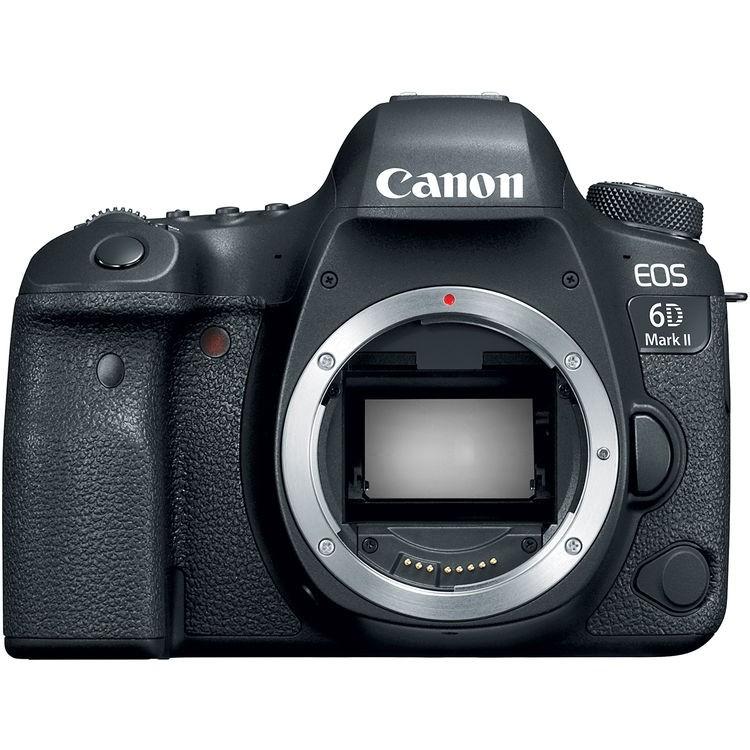 Câmera DSLR Canon EOS 6D Mark II CORPO Fullframe 26MP