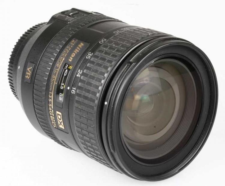 Objetiva Nikon AF-S 16-85mm f3.5-5.6G ED VR DX - USADA