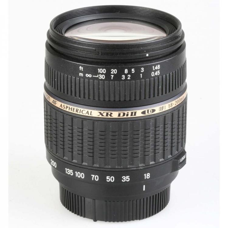 Objetiva Tamron AF 18-200mm f3.5-6.3 Macro ASPH XR Di II LD para Nikon - USADA