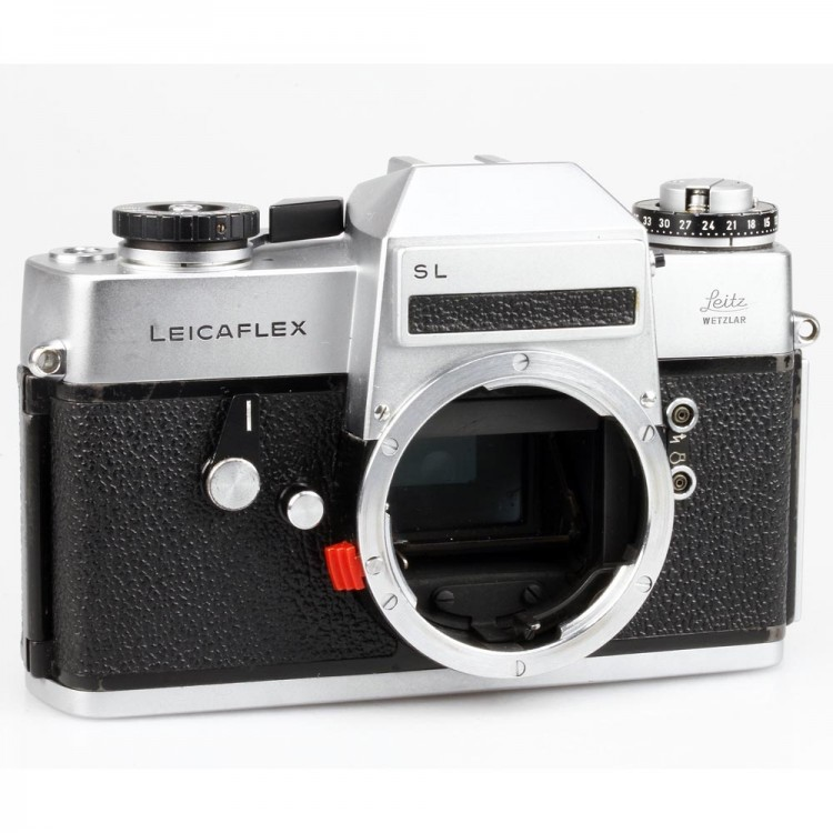 Câmera analógica 35mm Leica Leicaflex SL - USADA