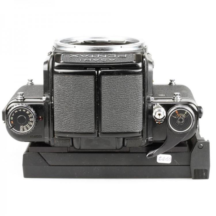 Câmera analógica Pentax 6x7 com Back Polaroid NPC - USADA