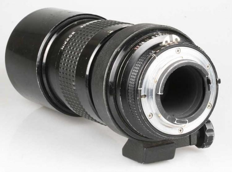 Objetiva Nikon AI 300mm f4.5 - USADA