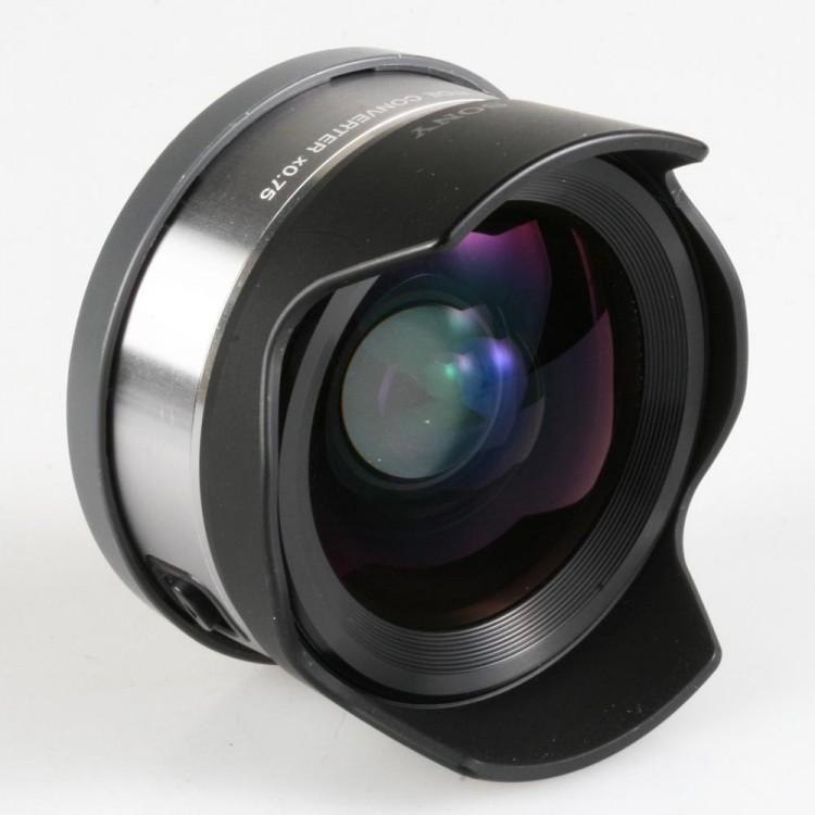 Conversor grande angular Sony VLC-ECU1 0.75x - USADO