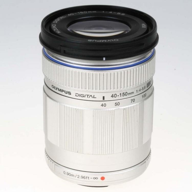 Objetiva Olympus micro 4/3 Zuiko 40-150mm f4-5.6R ED MSC - USADA
