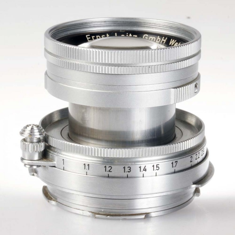 Objetiva Leica LTM39 Summicron 50mm f2 - USADO
