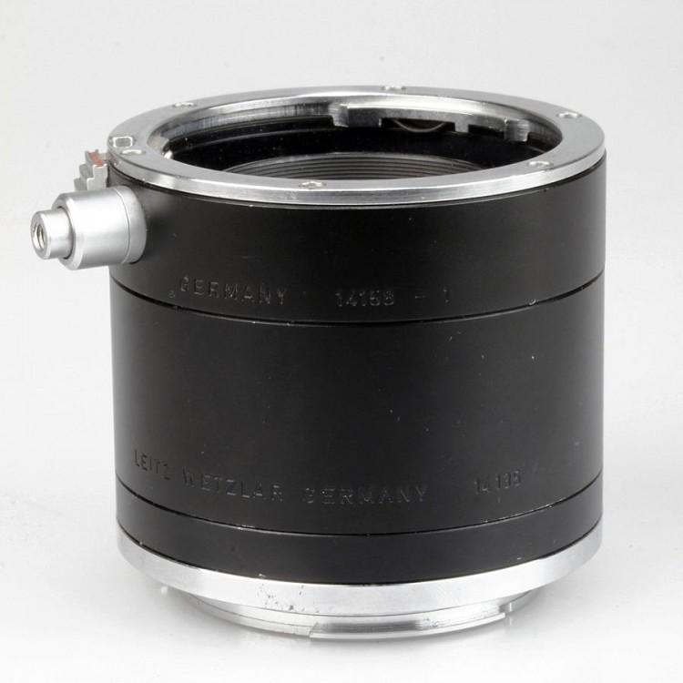 Kit de tubos extensores Leica R com 3 peças (14158-2 + 14135 + 14158-1)