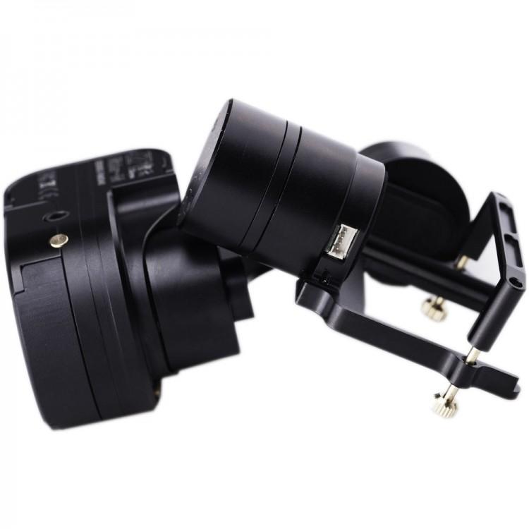 Estabilizador gimbal motorizado Zhiyun Rider M com giroscópio de 3 eixos para GoPro