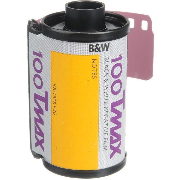Filme 35mm Kodak T-MAX ISO 100 Preto e Branco 36 Poses