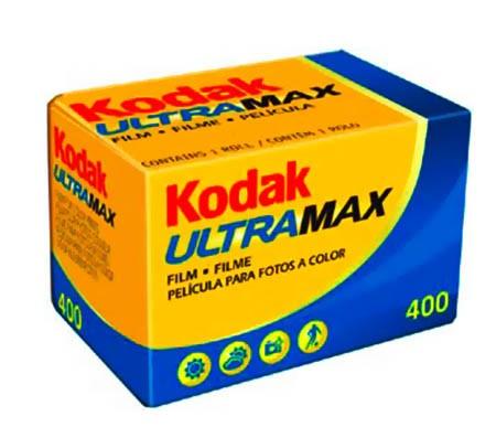 Filme 35mm Kodak Ultramax ISO 400 Colorido 36 poses