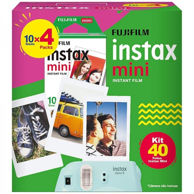 Filme Instantâneo Fujifilm instax mini (40 fotos)