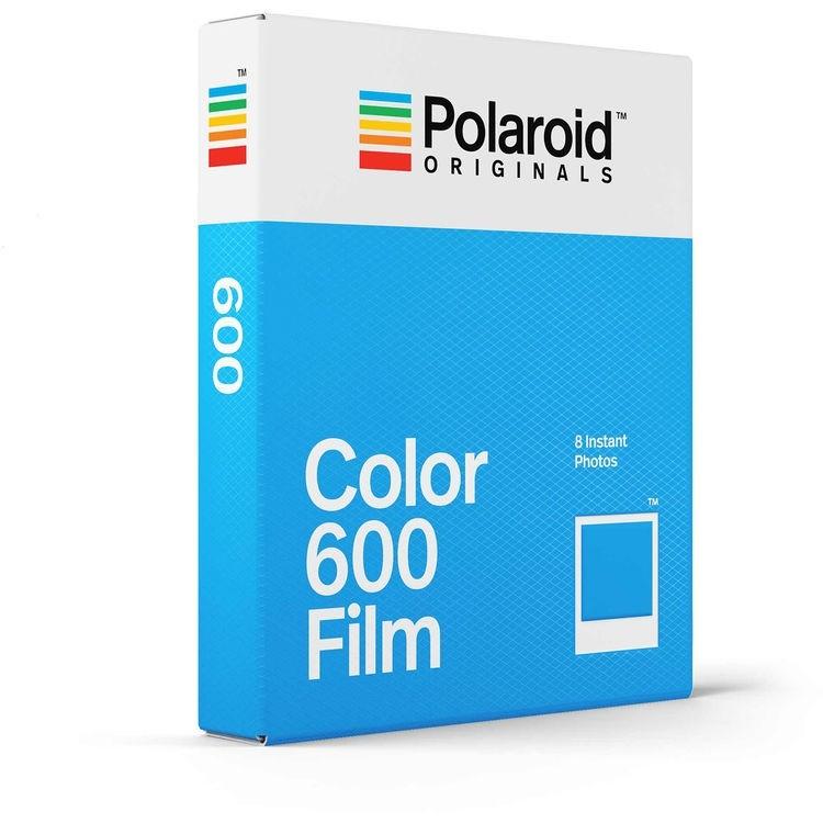 Filme Instantâneo Colorido Polaroid Originals 600 (8 fotos)