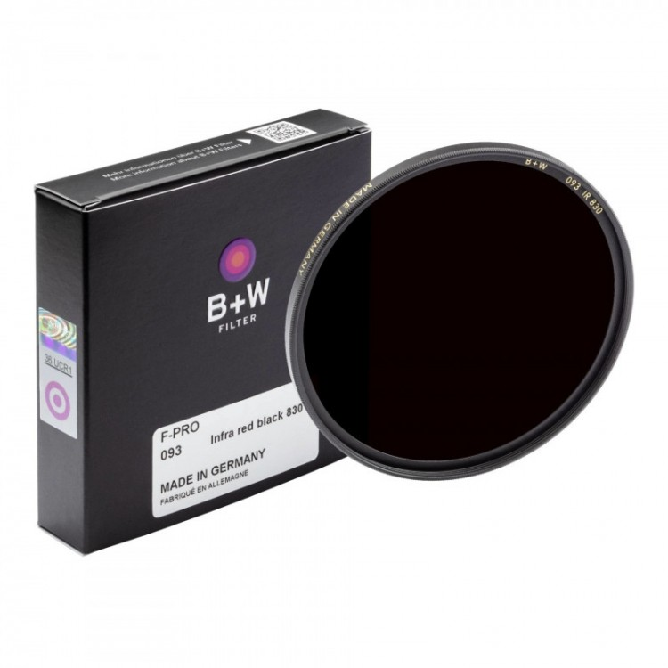 Filtro infravermelho B+W F-PRO 093 72mm (830nm)