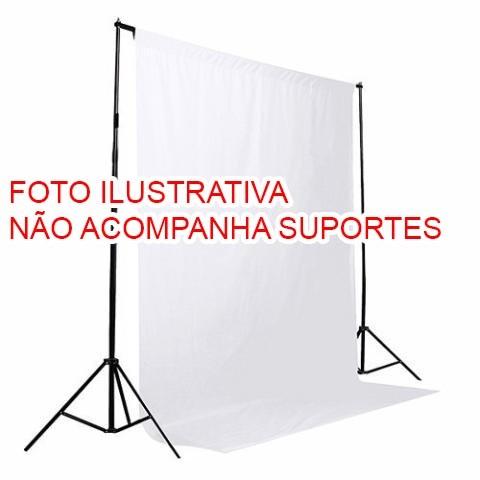 Fundo infinito de tecido Greika FV006-1016 para vídeo e fotografia em estúdio - 3x5 metros (BRANCO)