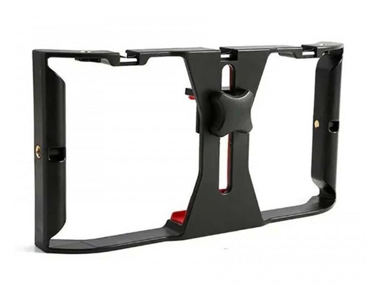 Estabilizador Gaiola para Smartphone com suporte para acessórios