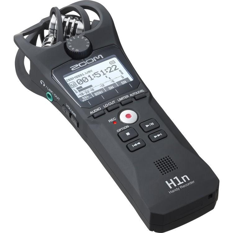 Gravador digital de áudio Zoom H1n