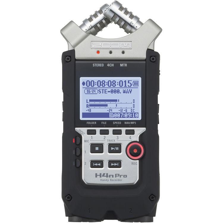 Gravador digital de áudio Zoom H4n Pro