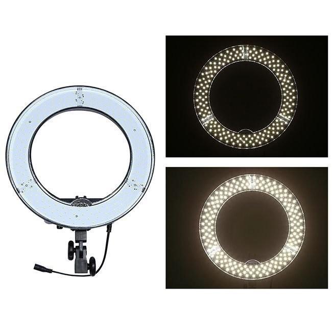 Iluminador de LED Circular Greika Ring Light RL12