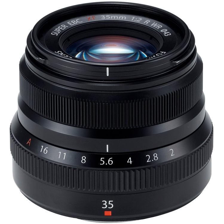 Objetiva Fujifilm XF 35mm f2 R WR - PRETO