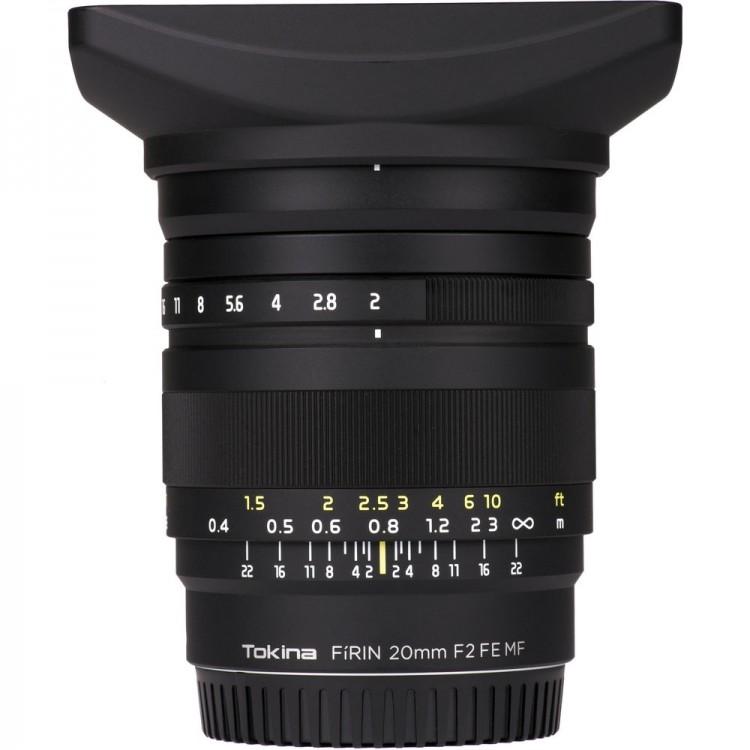Objetiva Tokina FiRIN 20mm f2 FE MF para Sony E