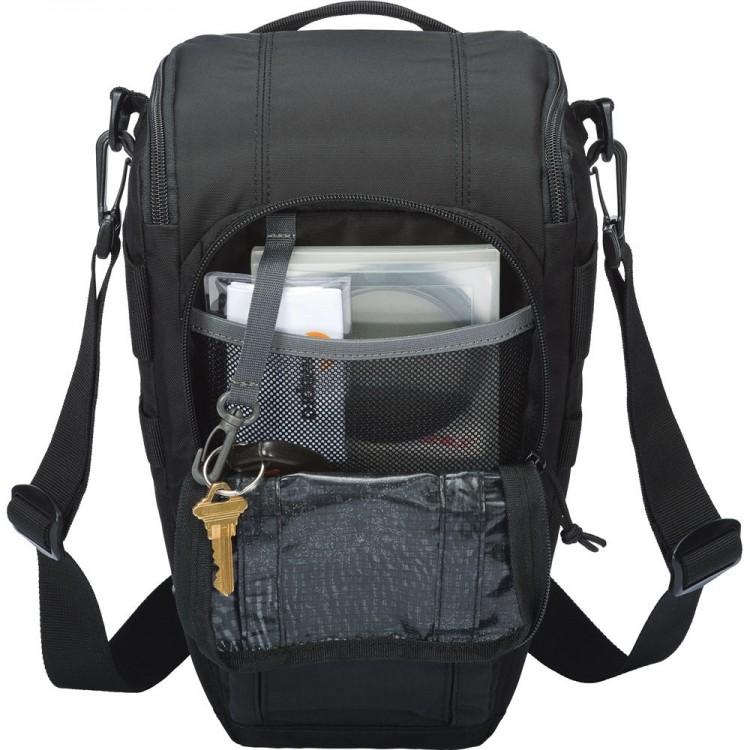 Estojo Lowepro Toploader Zoom 55 AW II para DSLR - PRETO