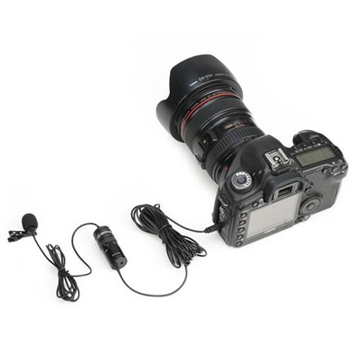 Microfone de lapela Boya BY-M1 Pro para câmeras, smartphones, computadores e gravadores de áudio
