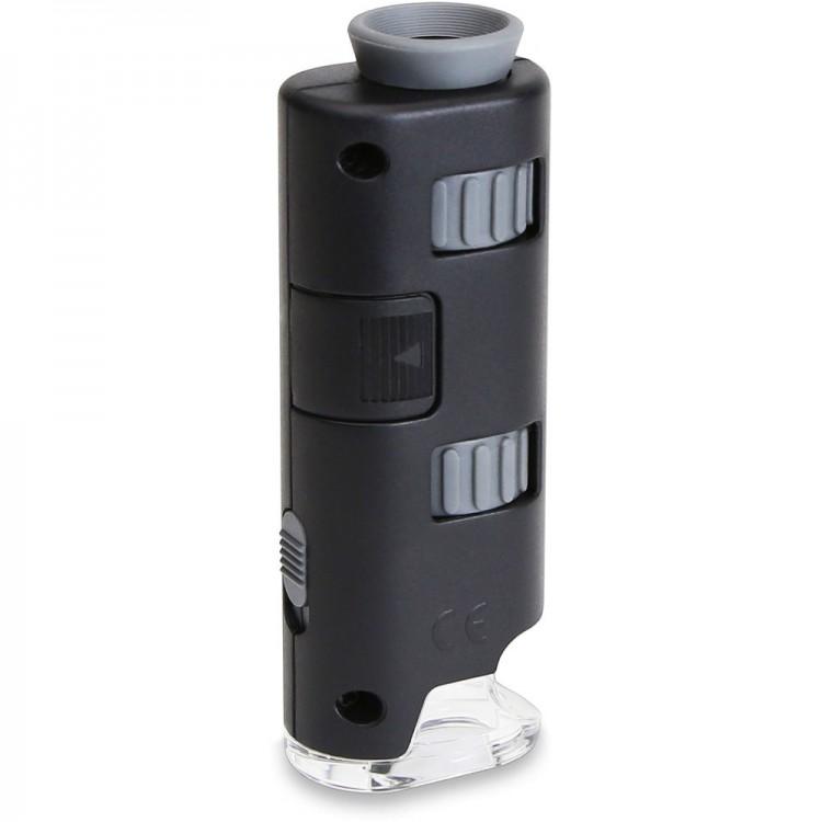 Microscópio de bolso Carson MM-200 MicroMax Plus (60 a 75x)
