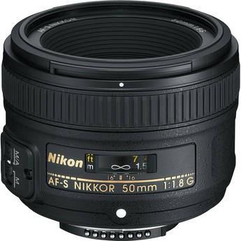 Objetiva Nikon AF-S 50mm f1.8G FX