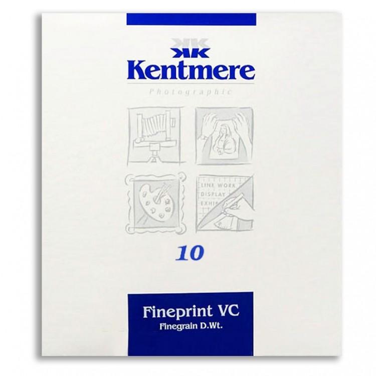 Papel Fotográfico Preto e Branco Kentmere 24x30cm - 10 folhas (Warmtone)