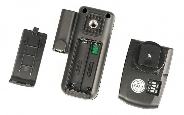Radio Flash Godox CT-16 com 16 canais - kit com transmissor e receptor
