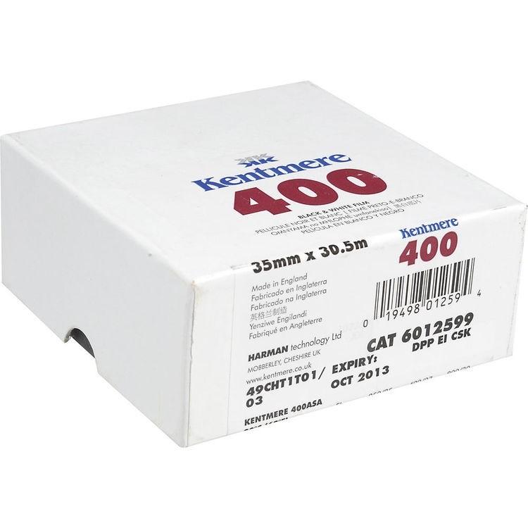 Rolo de filme 35mm Kentmere ISO 400 Preto e Branco (30 metros de comprimento)