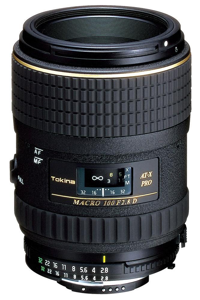 Objetiva Tokina AT-X 100mm f2.8 Macro PRO D para Canon