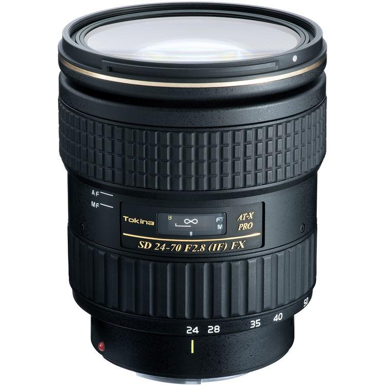 Objetiva Tokina AT-X 24-70mm f2.8 PRO FX para Canon