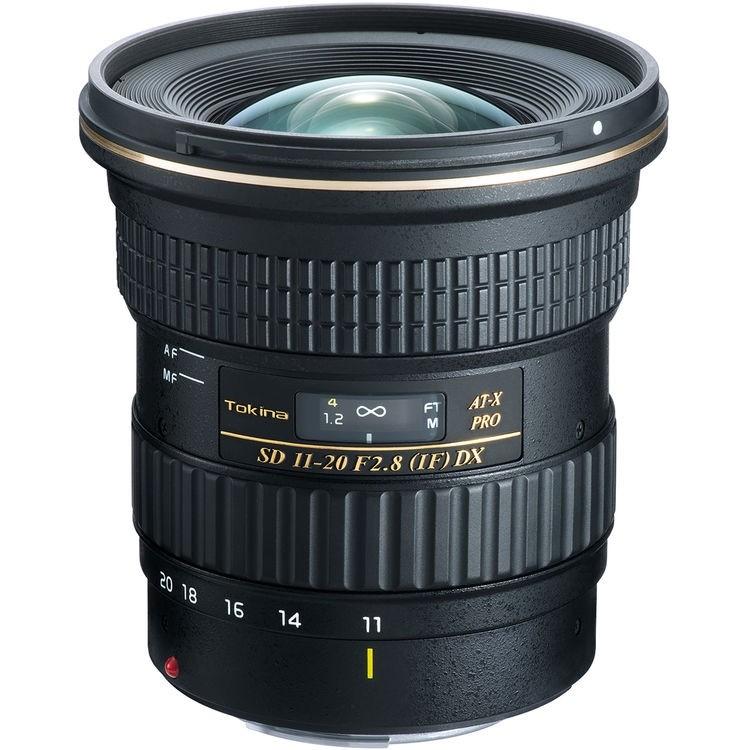 Objetiva Tokina AT-X 11-20mm f2.8 PRO DX para Canon
