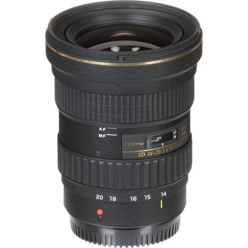 Objetiva Tokina AT-X 14-20mm f2 PRO DX para Canon