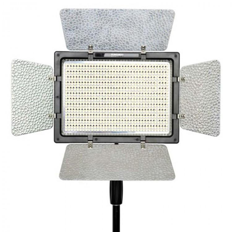 Iluminador de LED Yongnuo YN900 + Fonte de alimentação
