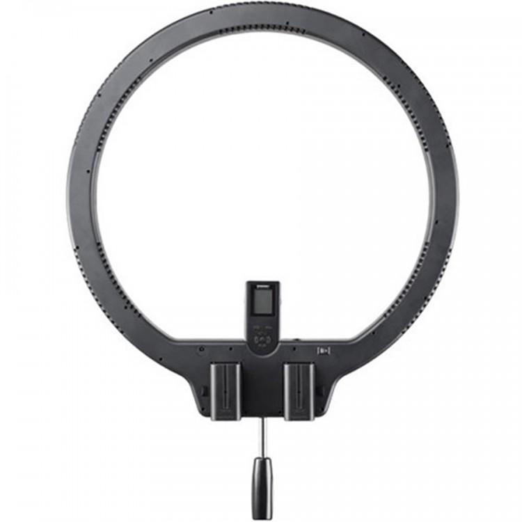 Iluminador de LED Circular Yongnuo Ring Light YN308 com fonte de alimentação