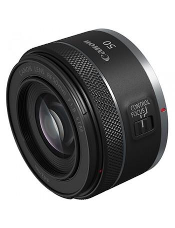 Objetiva Canon RF 50mm f1.8 STM