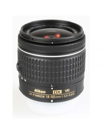 Objetiva Nikon AF-P 18-55mm f3.5-5.6G VR DX - USADA