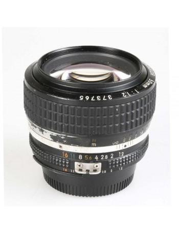 Objetiva Nikon AI-S 50mm f1.2 - USADA